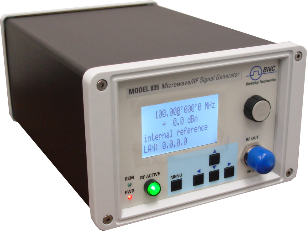 Microwave Rf Signal Generators : Berkeley nucleonics releases important new performance and