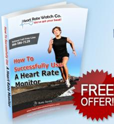 how to use a heart rate monitor, free e-book
