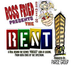 Comedian Ross Fried's podcast, THE RENT!