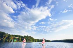 Woodloch Pines, all-inclusive family resort, boasts the natural beauty of the Pocono Mountains.