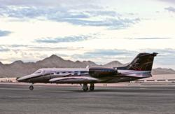Learjet 35 air ambulance