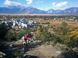 Mountain Biker south main buena vista compact walkable development real estate demand