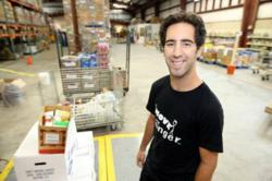 Move For Hunger Founder Adam Lowy
