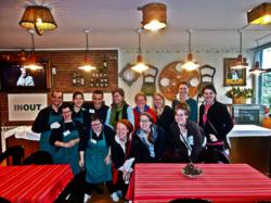 Barcelona Study Abroad Experience Volunteers at InOut Hostel