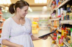 Shoppers are using their mobile devices more to check product information and to make sure they're getting the best deals
