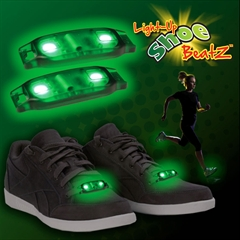 Green LED Shoe Beats
