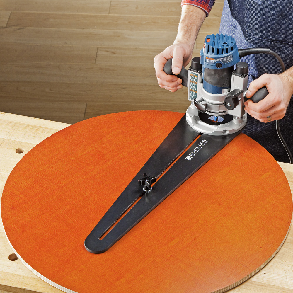 Rockler Launches Trim Router Circle Cutting Jig New Jig