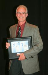 Randal Ferman, VP ekwestrel corp, recognized by the Hydraulic Institute at their 2013 annual meeting in Florida.