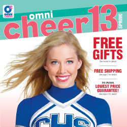 Leading cheer gear retailer, Omni Cheer, releases new product lines from top cheerleading brands for 2013 season.