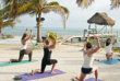Yoga at Glover's Reef