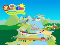 Toddler Valley has 6 unique PlayTowns and 85+ interactive activities