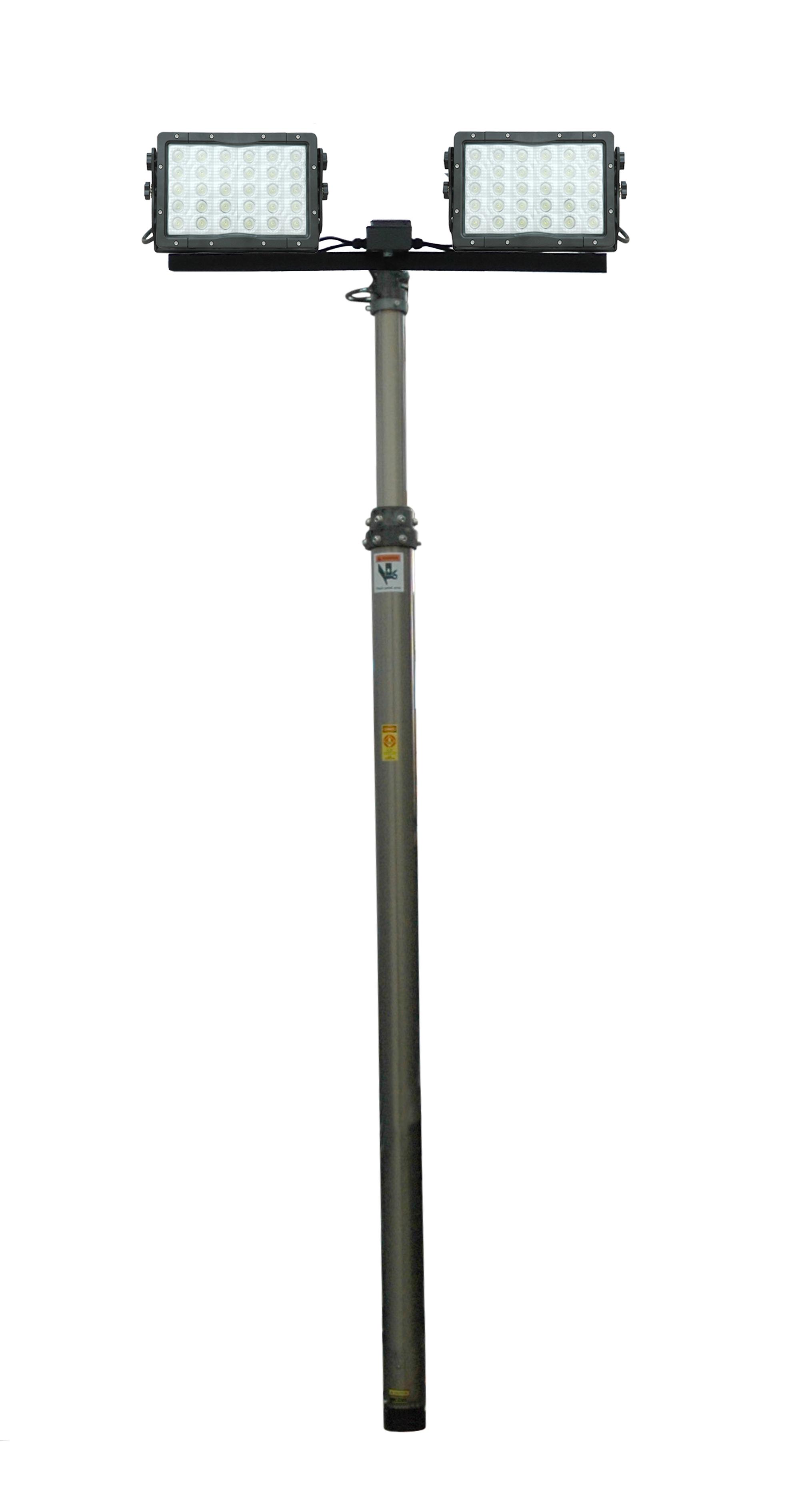 Larson Electronics Releases 300 Watt Pneumatic Light Tower