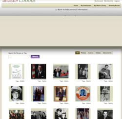 Media page of ancestorEbooks.com
