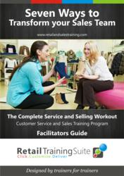 Customer Service and Sales Training Package for Retail Staff