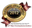 2012 Consumers' Choice Award Winner
