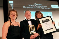 CETA Insurance winners of the 2013 Coutts West Oxfordshire Business Award