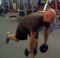 Single Leg Deadlift bodyweight exercise video