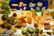 Knowledgeable gem and mineral dealers from throughout the US exhibit at the Expo.