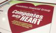 Foundation Financial Group Named Company with Heart