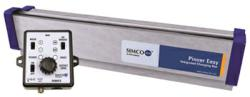 Simco-Ion's Pinner Easy combines a powerful static charging bar and charging generator into one advanced design.