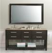 Clementina 72 Inch Bathroom Vanity From Virtu USA