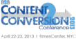 Leaders In B2B Marketing Sign On as Speakers and Sponsors for Demand Gen Report's Content2Conversion Conference, April 22-23rd at Times Center in Manhattan