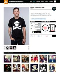 models, fans, Johnny Cupcakes, new, website,shop, community, fashion, retail, ecommerce, social media, hashtag, retailer