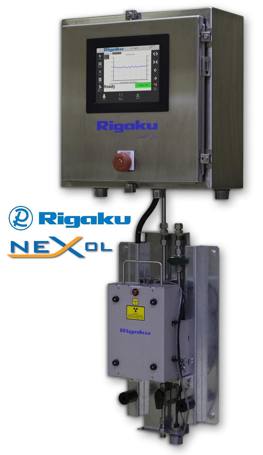 On Line Analyzer : Rigaku nex ol on line process elemental analyzer is