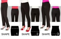Once You Find Your Fitlogic Size in Little Black Pants, You NEVER Have To Try On Pants With Fitlogic Again! They Will Always FIT!