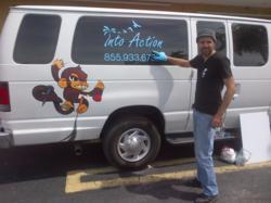 Into Action Treatment Drug Rehab Van