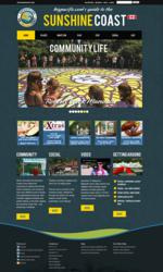 Image of Bigpacific.com's new Sunshine Coast design