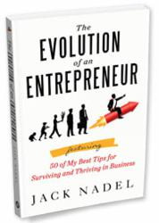 The Evolution of an Entrepreneur by Jack Nadel book cover