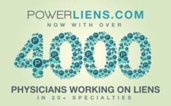 Over 4,000 doctors on liens listed on Power Liens