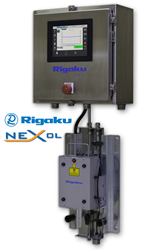 Rigaku NEX OL on-line process elemental analyzer