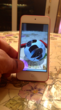 Tap an Augmented Reality Ball with the iPod Touch