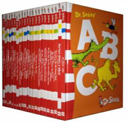 Dr Seuss Childrens Book Collection 22 Books Set Brand New Dr Seuss Cat In The Hat Abc Etc