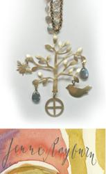Handcrafted Tree Of Life Pendant by Jenne Rayburn