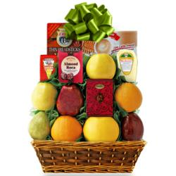 Nature's Bounty Fruit Basket by Capalbo's Gift Baskets