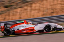 Ed Jones Fortec racing car