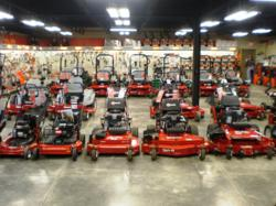 The new showroom at Marshall Power Equipment in Chesterland is stocked with eXmark Mowers, Bobcat Mowers, and Stihl Power Equipment!