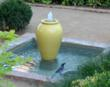 Gladding McBean oil jar conversion fountain