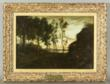 19th C. Barbizon School, Signed 'Corot', Landscape, O/C