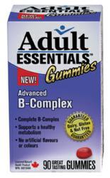 Adult Essentials B-Complex Gummy Vitamins