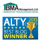 BMA ALTY2013 Best Blog Award