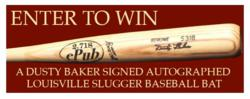 Dusty Baker bat contest