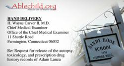 Was Adam Lanza on or withdrawing from psychiatric drugs at the time of