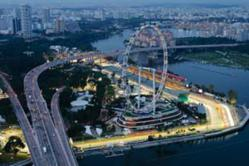 Singapore F1 Grand Prix Circuit - The Marina Bay Street Circuit
