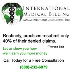 Get a Free Consultation from International Medical Billing (IMB); a Full Service Medical Billing Management Company.
