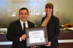Morgan Drexen employees receive Silver Award from the Orange County Chapter of American Red Cross for blood donations