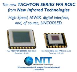 The new TACHYON FPA SERIES: larger resolution, high-speed, MWIR, digital interface and uncooled